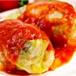 Old-Fashioned Stuffed (Holishkes) Cabbage as seen on The Jewish Kitchen website