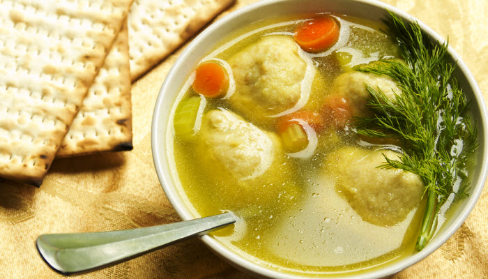Mom's Kosher Matzoh Ball Soup