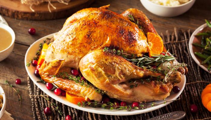 turkey from The Jewish Kitchen
