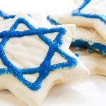 Iced Chanukah Cookies as seen on The Jewish Kitchen website