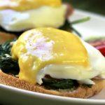Eggs Florentine as seen on The Jewish Kitchen website