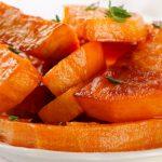 Glazed Sweet Potatoes - Healthy Option as seen on The Jewish Kitchen website