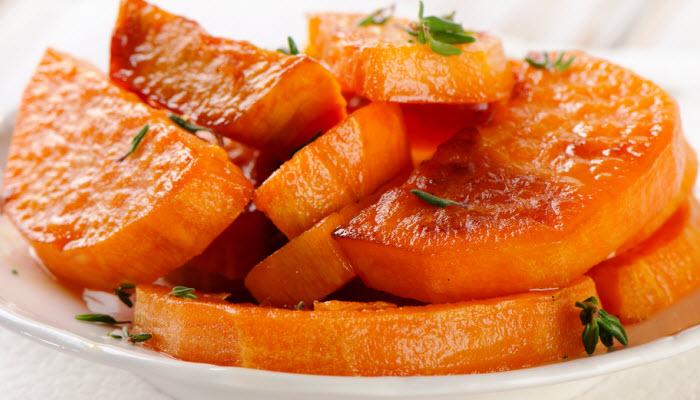 Glazed Sweet Potatoes – Healthy Option