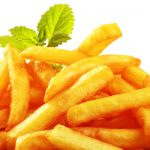 Easy Baked Fries - Healthy Option as seen on The Jewish Kitchen website
