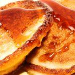 Cinnamon Whole Grain Pancakes - Healthy Option as seen on The Jewish Kitchen website