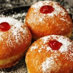 Old-Fashioned Jelly Doughnuts as seen on The Jewish Kitchen website