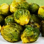 Roasted Brussels Sprouts as seen on The Jewish Kitchen website
