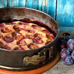 Purple Plum Torte as seen on The Jewish Kitchen website