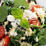 Orzo Salad as seen on The Jewish Kitchen website