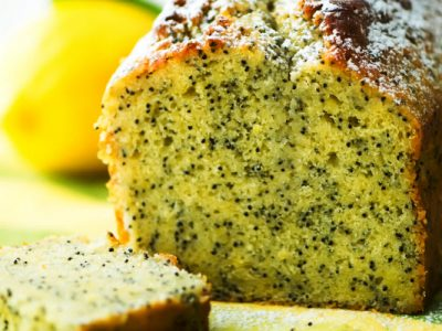 lemon poppy seed cake from The Jewish Kitchen