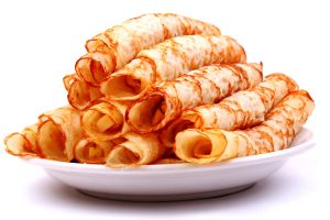 apple cinnamon crepes from The Jewish Kitchen