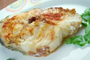 baked scrod from The Jewish Kitchen