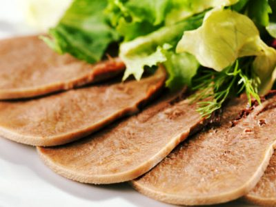 beef tongue from The Jewish Kitchen