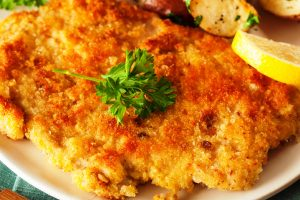 breaded veal chops from The Jewish Kitchen