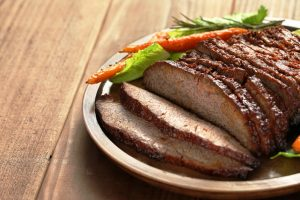 beef brisket with gravy from The Jewish Kitchen