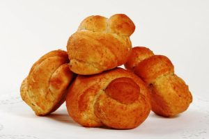 buttery twist rolls from The Jewish Kitchen