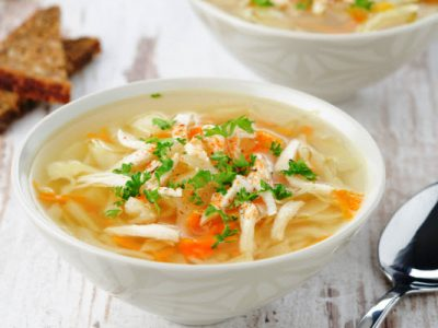 healthy cabbage soup from The Jewish Kitchen