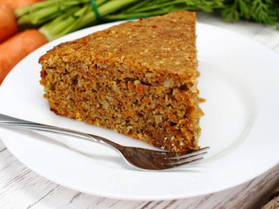 fresh carrot cake from The Jewish Kitchen