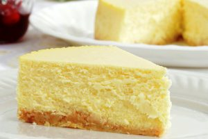 lorraines cheesecake from The Jewish Kitchen