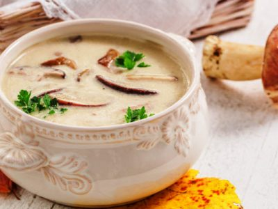 cream of mushroom soup from The Jewish Kitchen