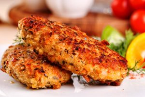 kosher crispy fish cakes from The Jewish Kitchen