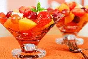 fresh fruit salad from The Jewish Kitchen