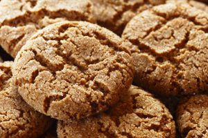ginger snap cookies from The Jewish Kitchen