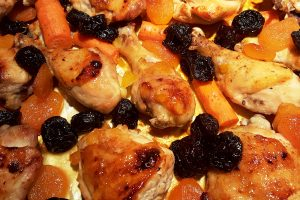 holiday apricot chicken from The Jewish Kitchen