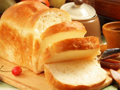 old fashioned white bread from The Jewish Kitchen