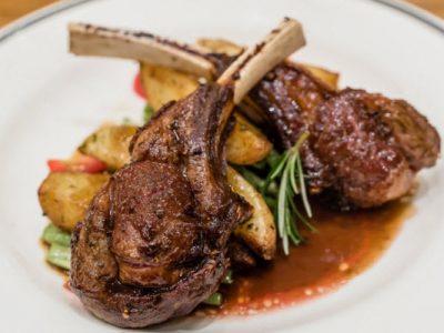 lamb chops from The Jewish Kitchen