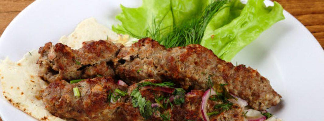 Kosher lambk kebobs from The Jewish Kitchen