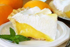 lemon meringue pie from The Jewish Kitchen