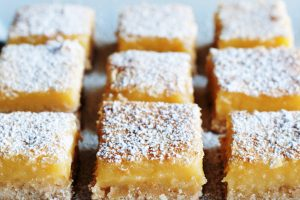 charlotte's lemon squares from The Jewish Kitchen