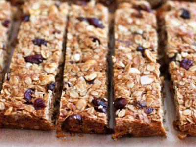light granola bars from The Jewish Kitchen