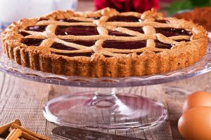 linzer torte from The Jewish Kitchen