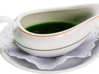 mint sauce from The Jewish Kitchen