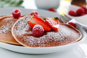 perfect pancakes from The Jewish Kitchen