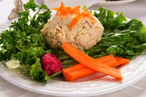 perfect gefilte fish from The Jewish Kitchen