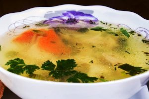phyllis's chicken soup from The Jewish Kitchen