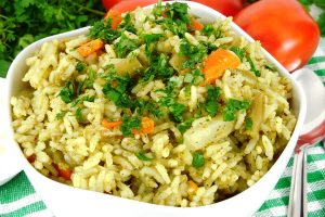 rice pilaf from The Jewish Kitchen