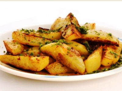 roasted rosemary potatoes from The Jewish Kitchen