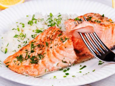 salmon in a poach from The Jewish Kitchen