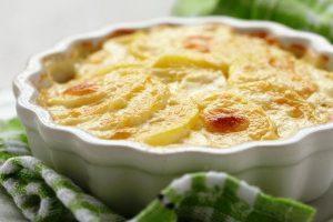 scalloped potatoes from The Jewish Kitchen