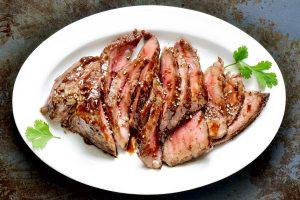 marinated skirt steak from The Jewish Kitchen