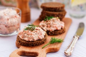 kosher salmon dip from The Jewish Kitchen