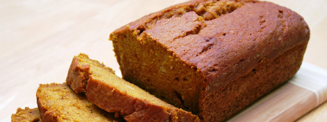 spiced pumpkin bread from The Jewish Kitchen