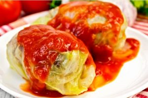 stuffed cabbage from The Jewish Kitchen