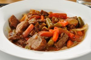 sweet and sour pot roast from The Jewish Kitchen