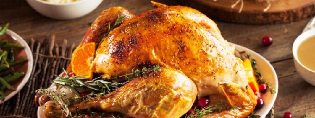 classic roast turkey with gravy from The Jewish Kitchen