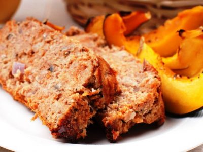 savory turkey meatloaf from The Jewish Kitchen